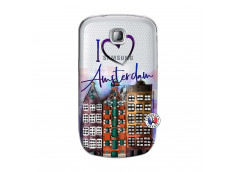 Coque Samsung Galaxy S Mini I Love Amsterdam
