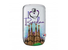 Coque Samsung Galaxy S Mini I Love Barcelona