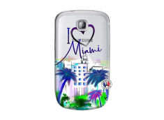 Coque Samsung Galaxy S Mini I Love Miami