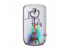 Coque Samsung Galaxy S Mini I Love Paris