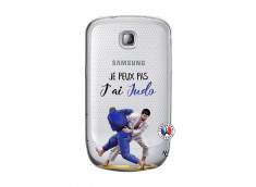 Coque Samsung Galaxy S Mini Je peux pas j'ai Judo