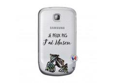 Coque Samsung Galaxy S Mini Je peux pas j'ai muscu