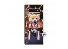 Coque Samsung Galaxy S10 Plus Cat Nasa Translu