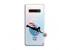 Coque Samsung Galaxy S10 Plus Coupe du Monde Rugby Fidji