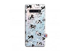 Coque Samsung Galaxy S10 Plus Cow Pattern