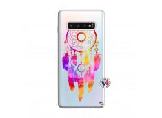 Coque Samsung Galaxy S10 Plus Dreamcatcher Rainbow Feathers