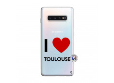 Coque Samsung Galaxy S10 Plus I Love Toulouse