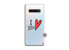 Coque Samsung Galaxy S10 Plus I Love You