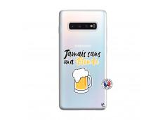 Coque Samsung Galaxy S10 Plus Jamais Sans Ma Blonde