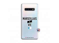 Coque Samsung Galaxy S10 Plus Marseillais à Vie