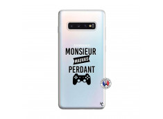 Coque Samsung Galaxy S10 Plus Monsieur Mauvais Perdant