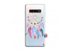 Coque Samsung Galaxy S10 Plus Multicolor Watercolor Floral Dreamcatcher