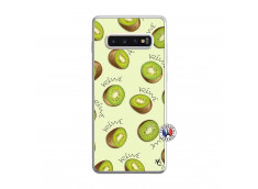 Coque Samsung Galaxy S10 Plus Sorbet Kiwi Translu