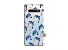 Coque Samsung Galaxy S10 Plus Dauphins