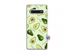 Coque Samsung Galaxy S10 Plus Sorbet Avocat Translu