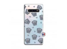Coque Samsung Galaxy S10 Plus Petits Elephants