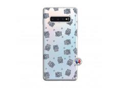 Coque Samsung Galaxy S10 Plus Petits Hippos