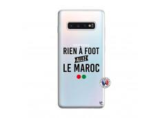 Coque Samsung Galaxy S10 Plus Rien A Foot Allez Le Maroc