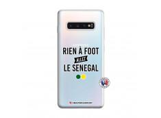 Coque Samsung Galaxy S10 Plus Rien A Foot Allez Le Senegal