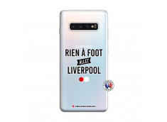 Coque Samsung Galaxy S10 Plus Rien A Foot Allez Liverpool