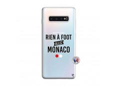 Coque Samsung Galaxy S10 Plus Rien A Foot Allez Monaco