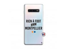 Coque Samsung Galaxy S10 Plus Rien A Foot Allez Montpellier
