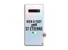 Coque Samsung Galaxy S10 Plus Rien A Foot Allez St Etienne