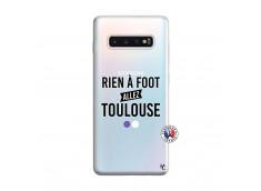 Coque Samsung Galaxy S10 Plus Rien A Foot Allez Toulouse