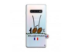 Coque Samsung Galaxy S10 Plus 100 % Rugbyman Entre les Poteaux
