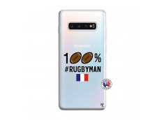 Coque Samsung Galaxy S10 Plus 100% Rugbyman