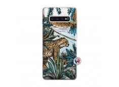 Coque Samsung Galaxy S10 Plus Leopard Jungle