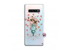 Coque Samsung Galaxy S10 Plus Puppies Love