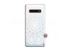 Coque Samsung Galaxy S10 Plus White Mandala
