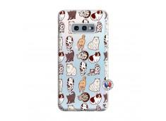 Coque Samsung Galaxy S10E Cat Pattern