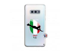 Coque Samsung Galaxy S10E Coupe du Monde Rugby-Italy