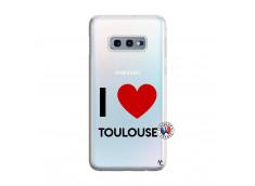 Coque Samsung Galaxy S10E I Love Toulouse