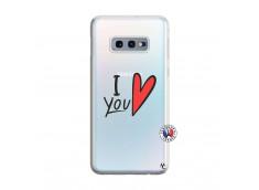 Coque Samsung Galaxy S10E I Love You