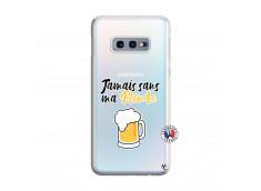Coque Samsung Galaxy S10E Jamais Sans Ma Blonde