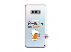 Coque Samsung Galaxy S10E Jamais Sans Ma Rousse