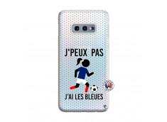 Coque Samsung Galaxy S10E Je Peux Pas J Ai Les Bleues Maillot