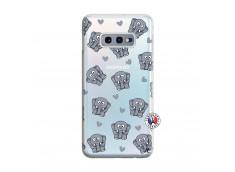 Coque Samsung Galaxy S10E Petits Elephants