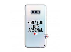 Coque Samsung Galaxy S10E Rien A Foot Allez Arsenal