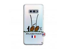 Coque Samsung Galaxy S10E 100 % Rugbyman Entre les Poteaux