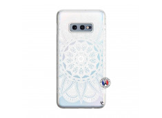 Coque Samsung Galaxy S10E White Mandala