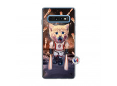 Coque Samsung Galaxy S10 Cat Nasa Translu