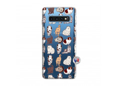 Coque Samsung Galaxy S10 Cat Pattern