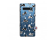 Coque Samsung Galaxy S10 Cow Pattern