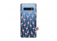 Coque Samsung Galaxy S10 Flamingo