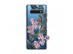 Coque Samsung Galaxy S10 Flower Birds