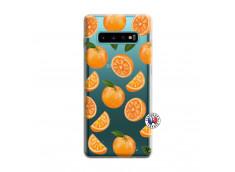 Coque Samsung Galaxy S10 Orange Gina